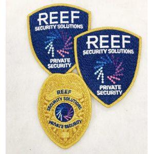 Reef Security - Hard Look Standard Uniforms - Gold Security Supervisor