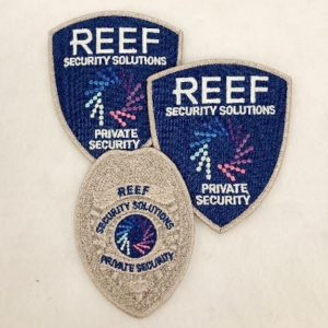 Reef Security - Hard Look Standard Uniforms - Silver Security Officer
